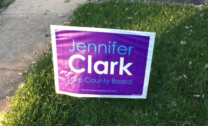 """Libertyville and Mundelein supporters get your yard sign today and show your support for Jennifer's campaign for the Lake County Board. Click on the """"Take Action"""" link on this website to request your yard sign, or email Jennifer at: jenniferclarklake15@gmail.com Signs can also be picked up at the Mary For Illinois campaign office at 886 […]"""